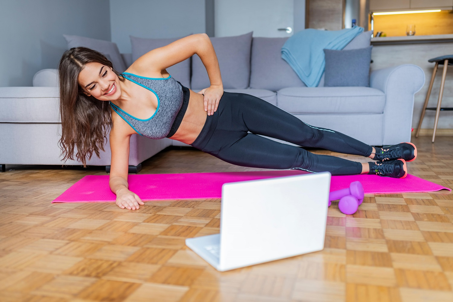 Stretch before and after each workout session for better flexibility and muscle recovery