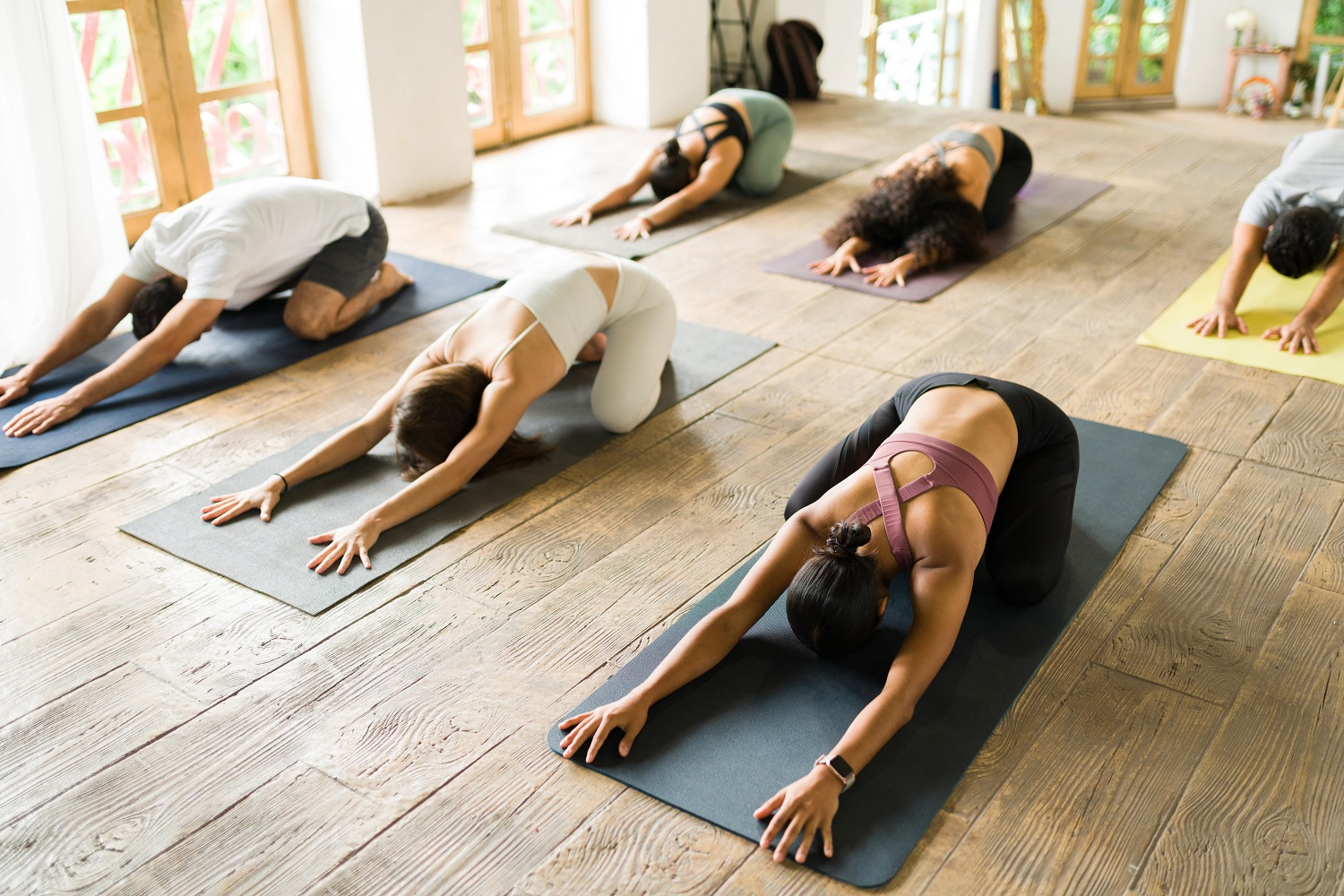 Join yoga classes if you can